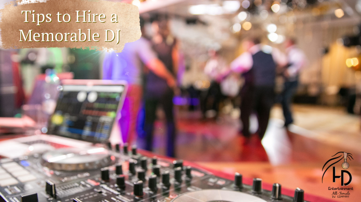5 Tips to Hiring a Memorable Wedding DJ